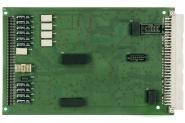 MCD UMS Messkarte; gerade Stiftleiste vorne, VG64 hinten