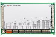 ULC Multifunktionskarte m. Basisplatte, Hutschienenbefestigung