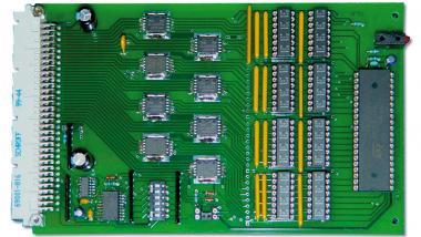 MCD-DOUT32OPTO V1.1 bestückt