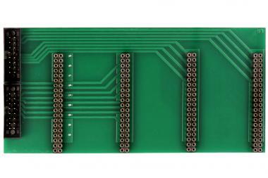 Karte Relais MUX 4x16 2x16pol adapter bestückt