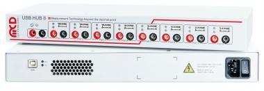USB-Hub 2.0, 8-Port mit 8-fach Relais MUX Komplettgerät