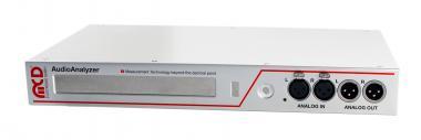 AudioAnalyzer 1HE Einheit analog und digital Desktop Variante