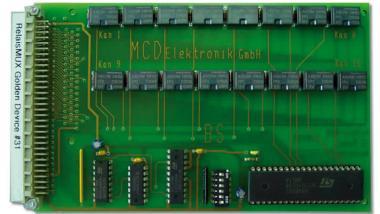 MUX 16x Umschalter für UMS Messsystem