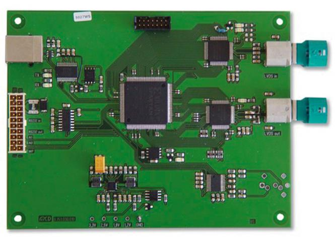 LVDS-Analyzer mit MAX9259/MAX9260; USB und RS232