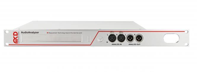 AudioAnalyzer 1HE Einheit analog und digital (Rackeinbau)