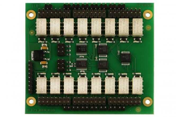Karte 16fach Relaismultiplexer I²C bus, PCF8574