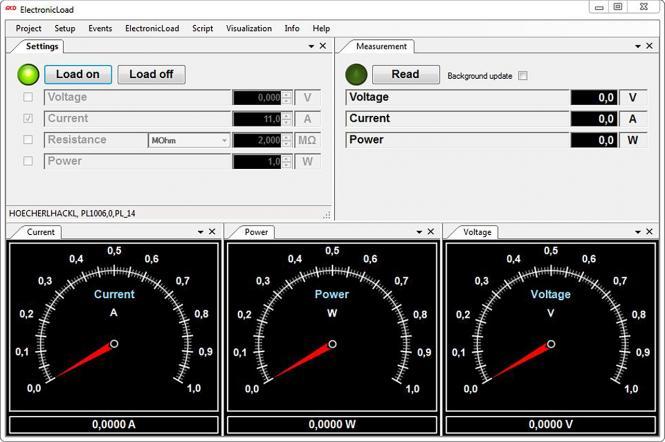 Lizenzgebühr für Toolmonitor ElectronicLoad